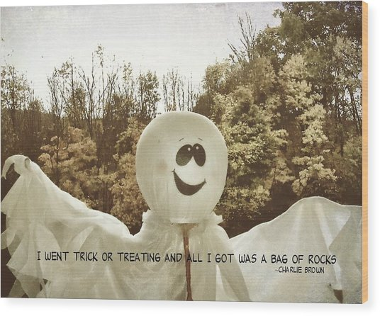 Good Grief Quote Wood Print by JAMART Photography