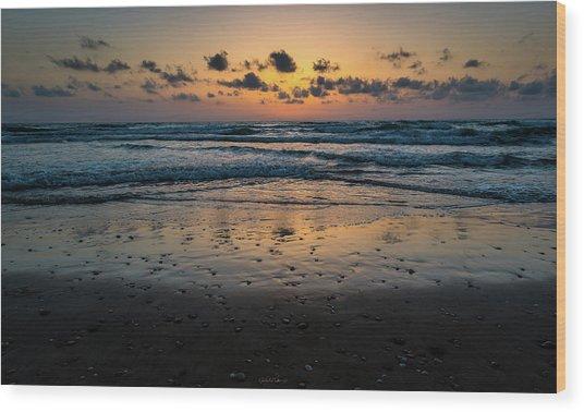 Goodnight Sea Wood Print
