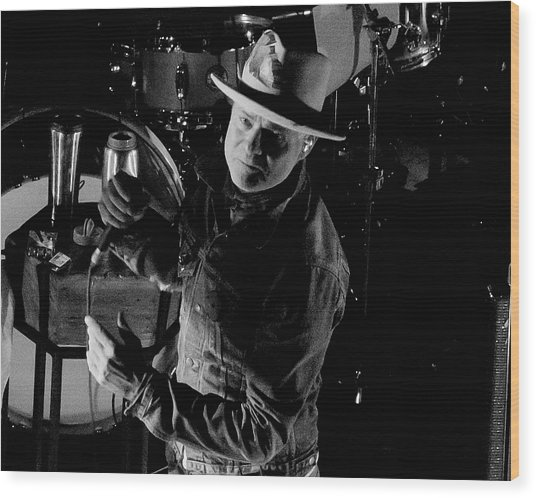 Gord Downie Wood Print