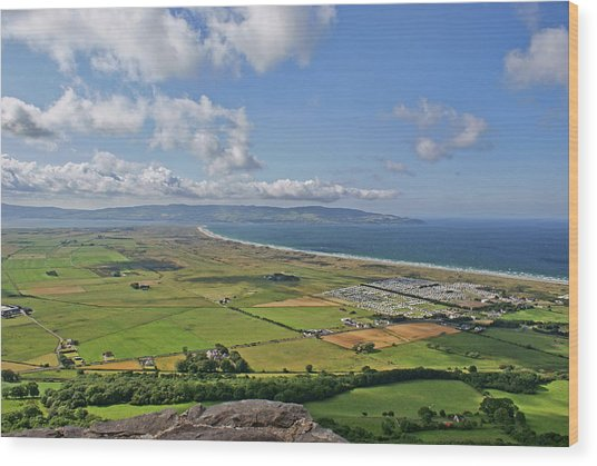Gortmore Viewpoint, Northern Ireland. Wood Print