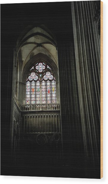 Gothic Cathedral Wood Print by Chris Brewington Photography LLC