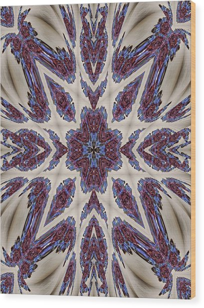 Graceful Tapestry Wood Print by Ricky Kendall