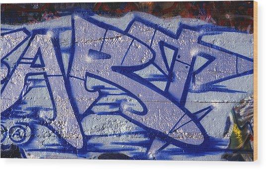 Graffiti Art-art Wood Print