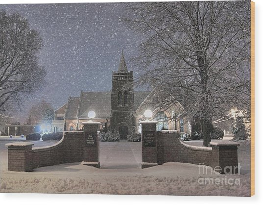 Graham Presbyterian Church Wood Print