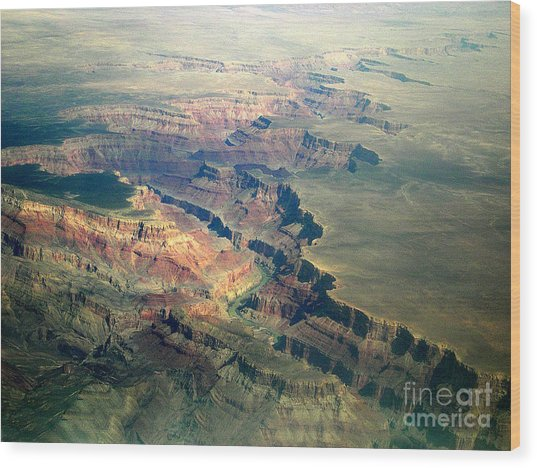 Grand Canyon 2 Wood Print by Addie Hocynec