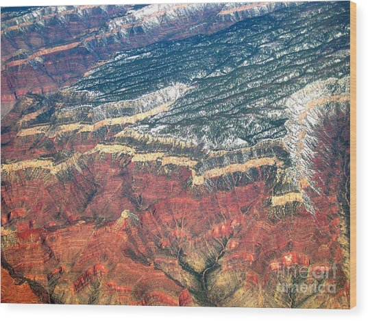 Grand Canyon 3 Wood Print by Addie Hocynec