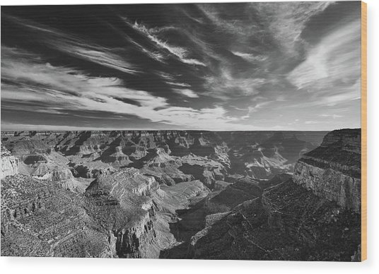 Grand Canyon In Motion Wood Print