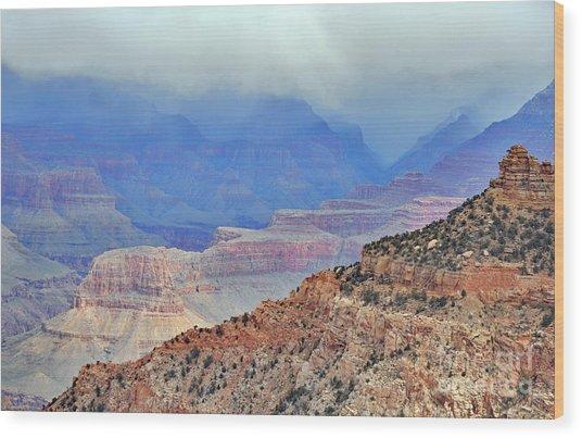 Grand Canyon Levels Wood Print