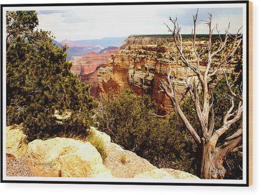 Grand Canyon National Park, Arizona Wood Print
