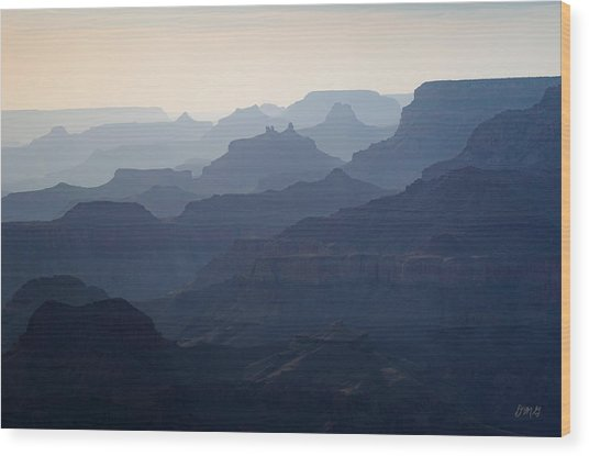 Grand Canyon No. 3 Wood Print