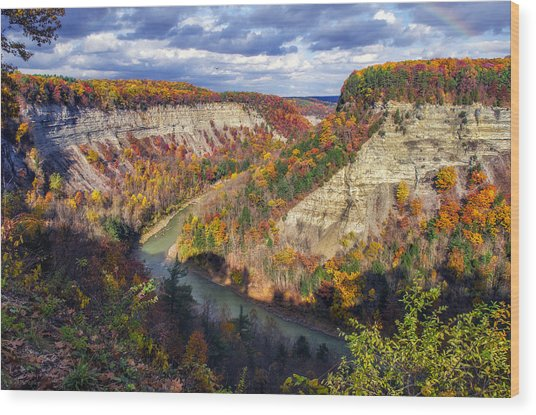 Grand Canyon Of The East Wood Print