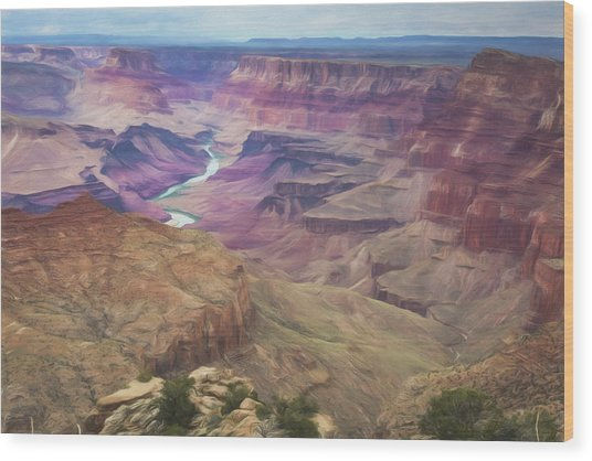 Grand Canyon Suite Wood Print