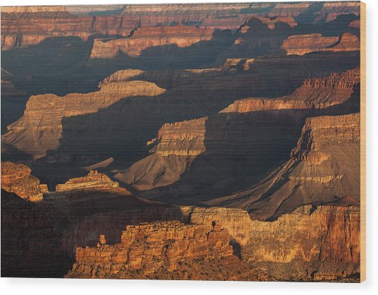 Grand Canyon Sunrise Wood Print