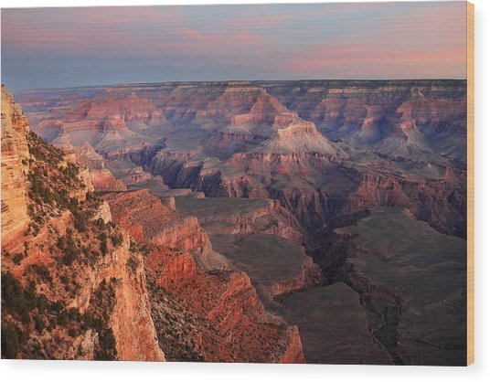 Grand Canyon Sunrise Wood Print