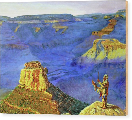Grand Canyon V Wood Print by Stan Hamilton