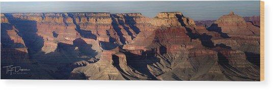 Grand Canyon Wide Wood Print