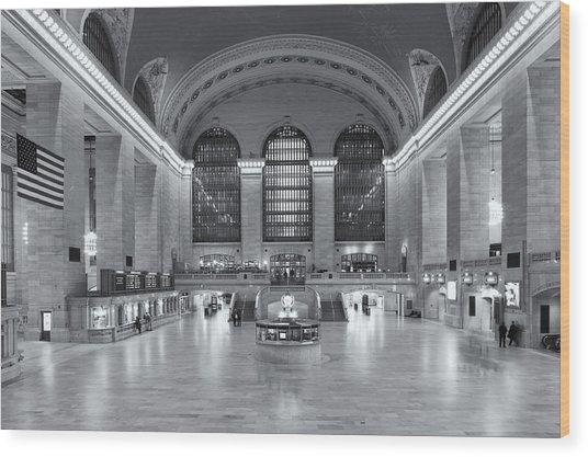 Grand Central Terminal II Wood Print