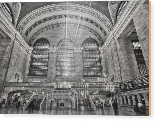 Grand Central Terminal Station Wood Print