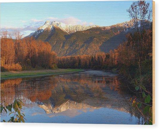 Mount Cheam, British Columbia Wood Print