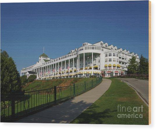 Grand Hotel Mackinac Island 2 Wood Print