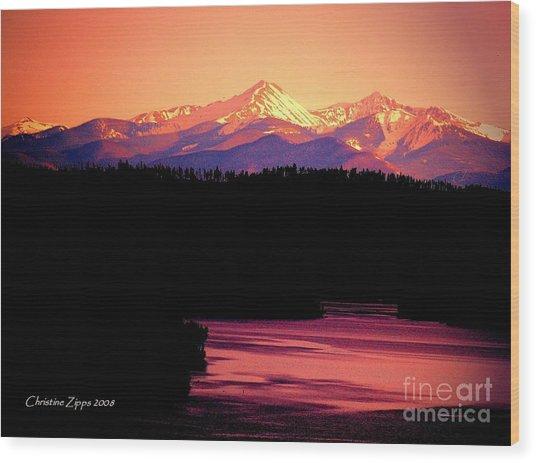 Grand Lake Wood Print