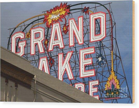 Grand Lake Theatre . Oakland California . 7d13495 Wood Print