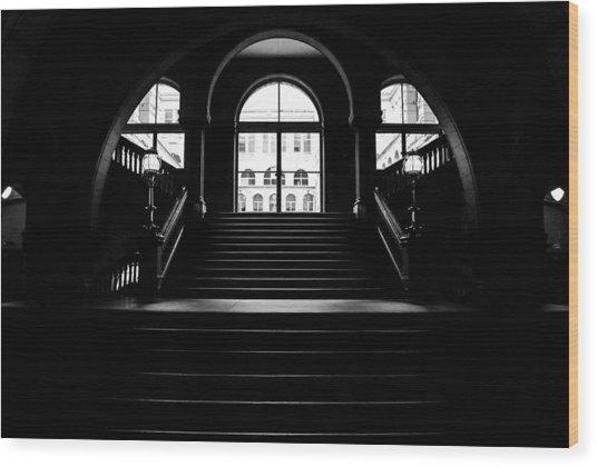 Grand Light Wood Print by Jason Heckman