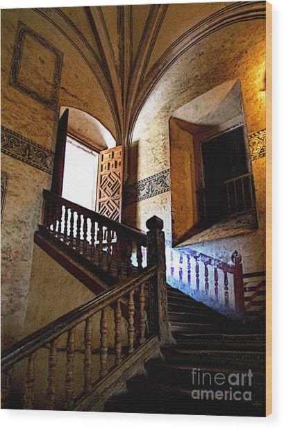 Grand Staircase 2 Wood Print