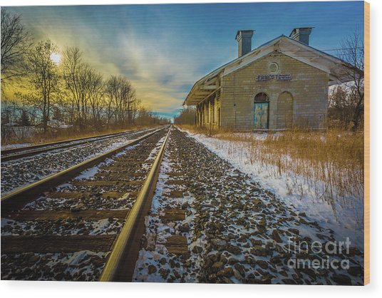 Grand Trunk Station  Wood Print
