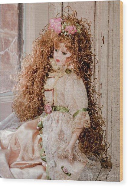 Grandma's Doll Wood Print
