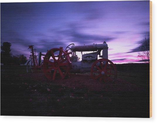 Grandview Sunset Wood Print