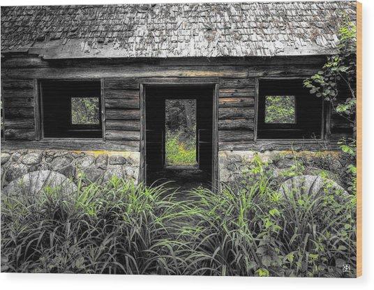 Granite House Wood Print