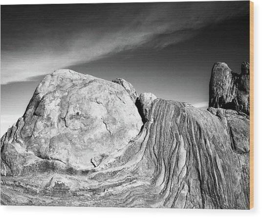Grapevine Hills No. 3 Wood Print by Al White
