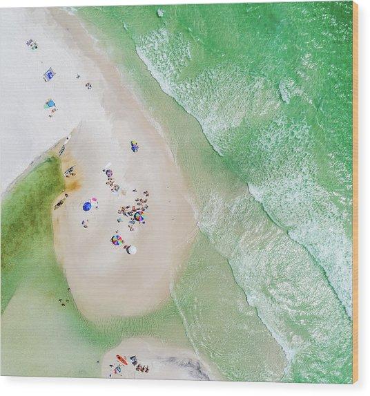 Grayton Beach Island Time Wood Print