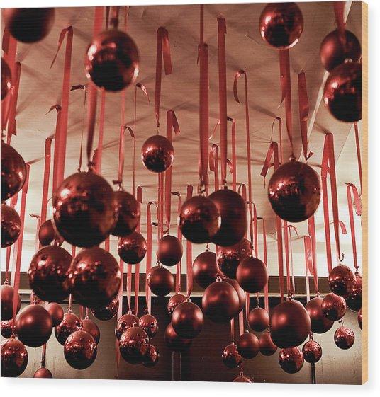 Great Balls Of Macy's Wood Print