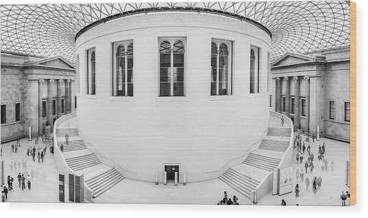 Great Court Wood Print