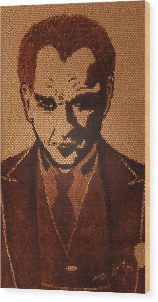 Great Mustafa Kemal Ataturk  Wood Print