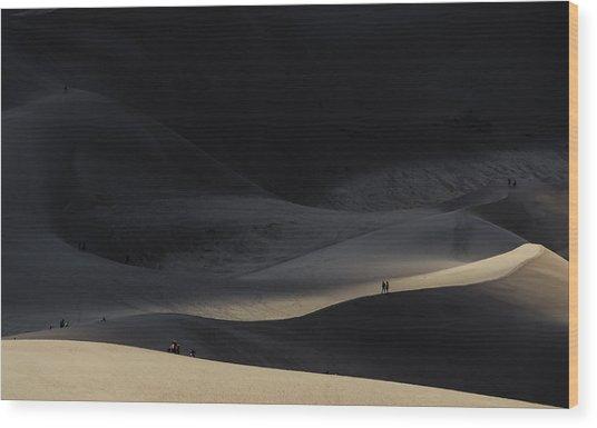 Great Sand Dunes National Park Wood Print
