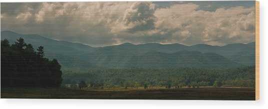 Great Smoky Mountains Wood Print