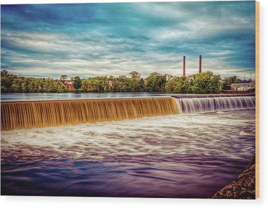 Great Stone Dam Wood Print