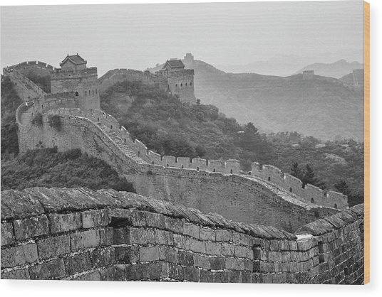 Great Wall 7, Jinshanling, 2016 Wood Print