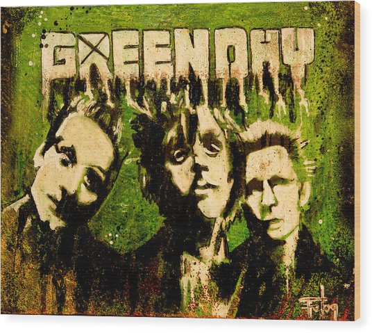 Green Day Wood Print by Christopher Chouinard