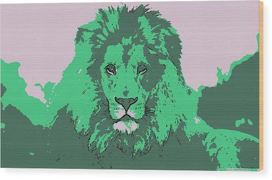 Green King Wood Print