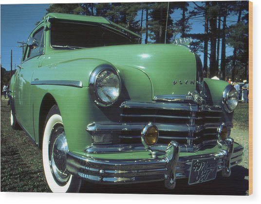American Limousine 1957 - Historic Car Photo Wood Print