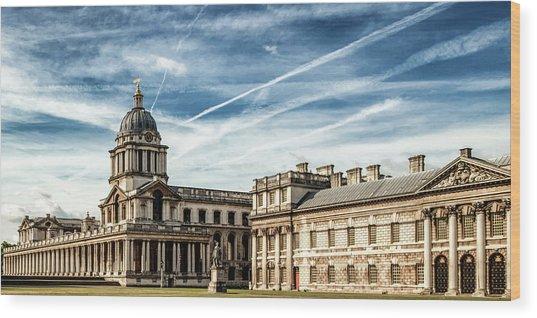 Greenwich University Wood Print