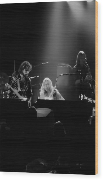 Greg Allman  Wood Print