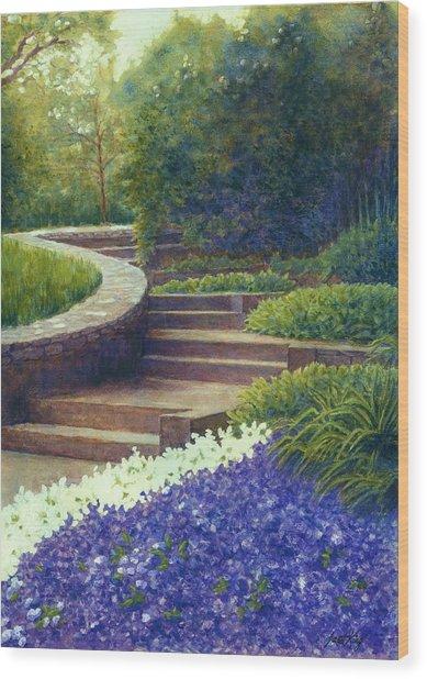Gretchen's View At Cheekwood Wood Print