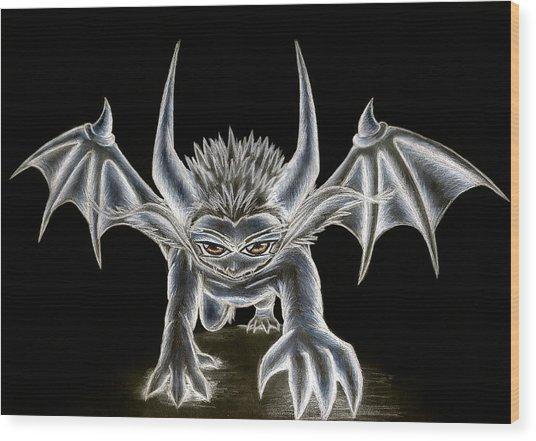Grevil Pastel Wood Print