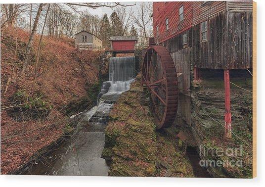 Grist Mill II Wood Print