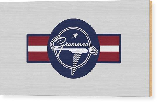 Grumman Stripes Wood Print
